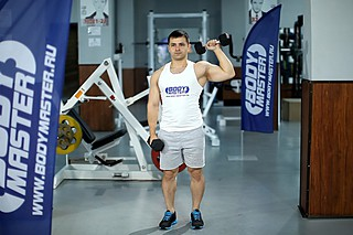 Dumbbell One-Arm Shoulder Press
