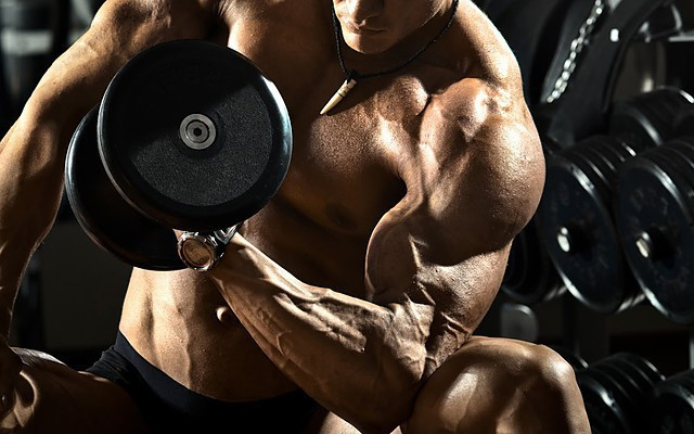 Recovery with dumbbells